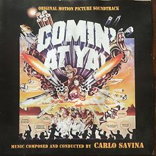 CARLO SAVINA - COMIN' AT YA -Spaghetti Western Soundtrack CD