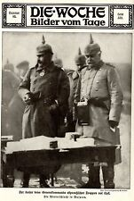 Winterschlacht in Masuren * Kaiser Generalkommando vor Lyck  Bilddokument 1915