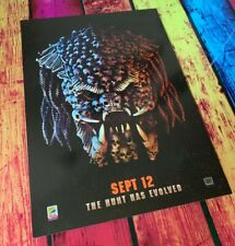 The Predator (2018) Official Odeon Exclusive A4 Card Film Poster Olivia Munn
