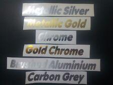 Metallic or chromes etc charge