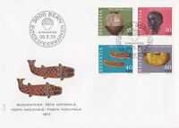 SW225) Switzerland 1973 Pro Patria - Archaeological Findings FDC.