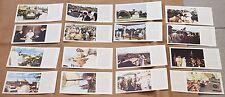 ROMA 1981 GIRO VIAGGIO 16 BUSTE 16 CARTONCINI PAKISTAN FILIPPINE GUAM GIAPPONE