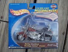 2000 Hot Wheels 1:18 Scale Die Cast Harley Davidson Heritage Softail CLEARANCE