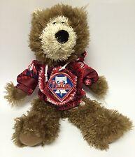 Phillies Baseball Teddy Bear Stuffed Animal Plush Tie Dye Shirt Hoodie MLB