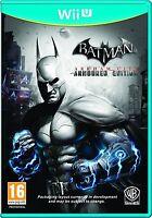 BATMAN ARKHAM CITY ARMORED EDITION EN CASTELLANO NUEVO PRECINTADO  Wii U
