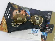 New Vintage B&L Ray Ban Classic Collection III Diamond Hard W1910 Sunglasses USA