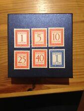 Nederlands Nieuw Guinea nrs P1 - P6 jr 1957 Postfris Portzegels (29)