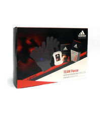 Cofanetto uomo ADIDAS TEAM FORCE profumo edt 50ml + after shave 100ml + guanti