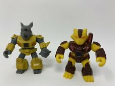 Battle Beasts. Series 1. Tiger(Water) And Rhino (Wood)