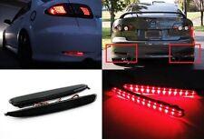 03-08 Mazda6 Atenza Black Smoked Lens LED Bumper Reflector Tail Brake Stop Light