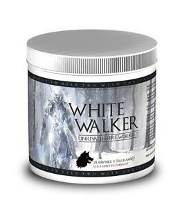 White Walker pre-workout Blue Raspberry