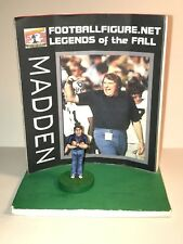 Tudor Electric Football Game Oakland Raiders Coach John Madden with FF.NET Stand