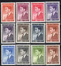 Viêt Nam - 1956 - Président Ngo Diem  - N° 41 à 52 - Neufs * - MLH