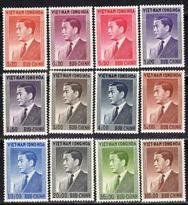 Viêt Nam - 1956 - Président Ngo Diem  - N° 41 à 52 - Neufs * - MNH