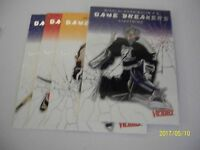 LOT OF 4 ICE BREAKERS 2003-04: KHABIBULIN-IGINLA-THORNTON-KOVALEV