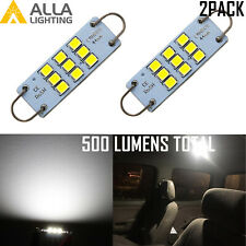 Alla Lighting LED 44MM 561 Map Light Bulb Dome Light Interior Overhead Inside