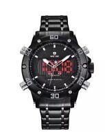 Watch,Mens Watches,Analog Digital Sport Watch With Stainless Steel Strap...
