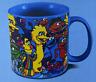 Sesame Street Sesame Friends 20 oz. Ceramic Coffee Soup Tea Mug Oscar Big Bird