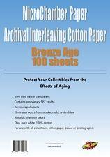 "MicroChamber Paper Bronze Size 100 Sheets 6-5/8"" x 10-3/16"""