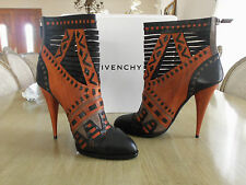 Stunning RARE Givenchy Tribal Ankle Boots Jimmy Choo It. 41 US 11 MSRP $2100