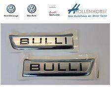 """Original VW Schriftzug Logo Zeichen SET """"Bulli"""" T6 7E0853688ACBX + 7E0853688CCBX"""