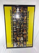 KILL BILL Movie Poster Tarantino Uma Thurman You didn't think it's be easy 2003