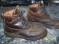 DOC MARTINS 6 EYE MENS LEATHER BOOTS  SIZE 10