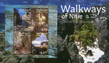 Niue 2017 FDC Walkways of Niue 4v M/S Cover Caves Chasms Tourism Stamps