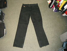 "Wrangler Ohio Jeans Waist 32"" Leg 34"" Black Faded Mens Jeans"