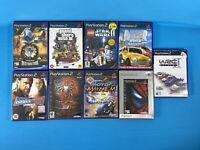 9 Empty PS2 Cases W/Manuals Grand Theft Auto StarWars Lego PlayStation No Discs