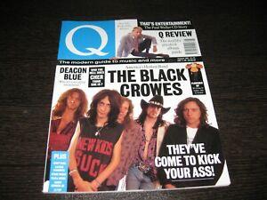 Q Magazine Rivista The Paul Weller The Black Crowes Nº 59 August 1991