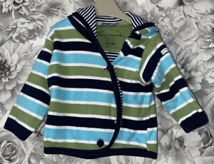 Boys Age 3-6 Months - Little Shrimp Organic Hooded Top - Immaculate Condition