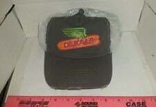 DEKALB SEED CORN CHARCOAL & GREY DISTRESSED WEATHERD MESH Logo CAP HAT BRAND NEW