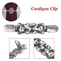 retro pullover bluse pin schal - brosche ente clip aus cardigan - clip