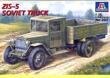 Italeri 1:35 ZIS-5 Soviet Truck Plastic Model Kit #297