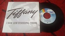 "TIFANNY ** I Saw Him Standing There ** 1987 Spain PROMO 7"" Single DEBBIE GIBSON"