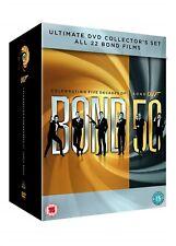 JAMES BOND - 2012 Complete Collection 22-Disc Box Set New Sealed UK Region 2 DVD