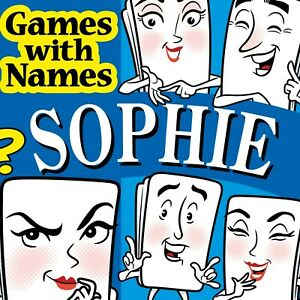 SOPHIE'S GAME: Fun gift or present for girl or woman called Sophie. FREE WRAP