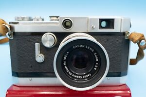 Canon VT Rangefinder camera with Canon 50mm lens