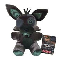 "6"" Rare Funko Five Nights at Freddys Phantom Green Foxy Plush Toy Doll New"