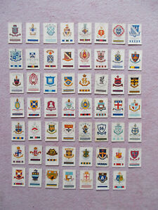 CIGARETTE CARDS BY WILL'S OVERSEAS - CRESTS & COLOURS OF AUSTRALIAN UNI,COLL