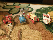 Lot Mini Kiddie Car Classic Vtg Hallmark Ornaments Plane Tricycle Boat Racer Euc