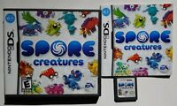 Spore Creatures - Nintendo DS DS Lite 3DS 2DS Game Tested Works !