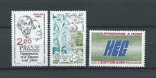FRANCE - 1981 YT 2143 à 2145 - TIMBRES NEUFS** MNH LUXE