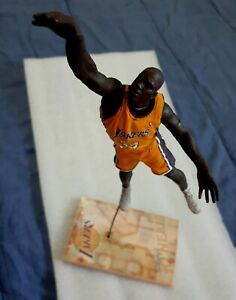 Shaquille O'Neal Los Angeles Lakers Yellow Jersey McFarlane Loose