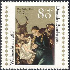 Germania 1985 Natale/Saluti/Natività/arte/Artista/PITTURA/BOVINI 1v (g10106)