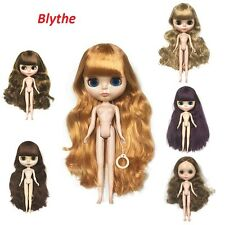 30cm TaKaRa Nude Blythe Doll From Factory 7 Joints Body+ Japan's Long Hair New