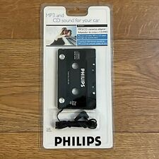 Philips Mp3 & Cd Sound Cassette Adapter Ph2050W - New, Factory-Sealed