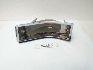 1964 Buick Special Skylark Chrome Tail Light Lamp Taillight Housing LH 64 Driver