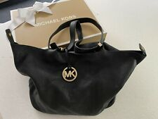 🎀 Authentic Michael Kors Soft Leather Black Bag Boxed 🎀